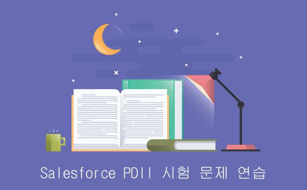 Salesforce PDII 시험 문제 연습